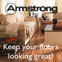 Armstrong. Keep your floors looking great!