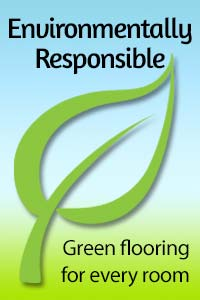 Environmentally responsible green flooring for every room