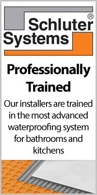 Professionally trained Schluter System installers at Carson Flooring.