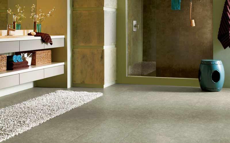 Bathroom Luxury Vinyl Tile